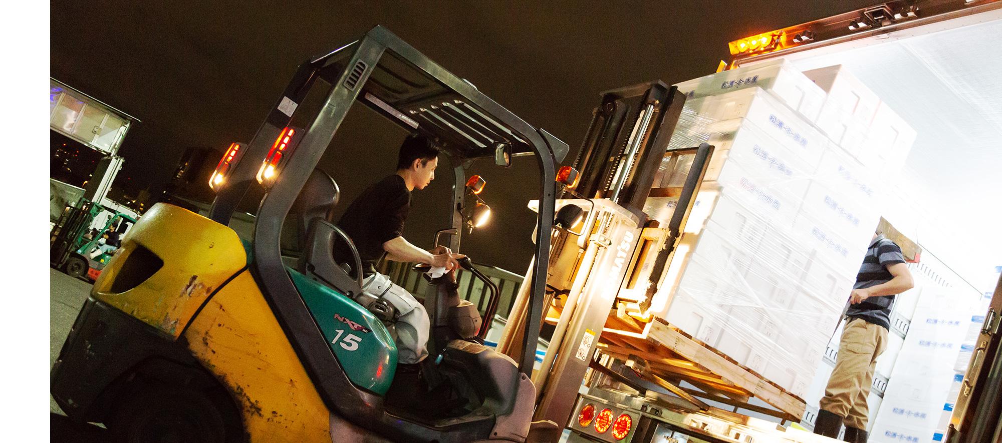 生鮮食品の輸送なら大阪府の有限会社前川運送へ